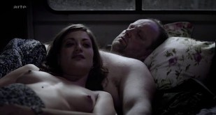 Georgia Scalliet nude topless and Julie-Marie Parmentier nude and sexy - Rapace (FR-2011)