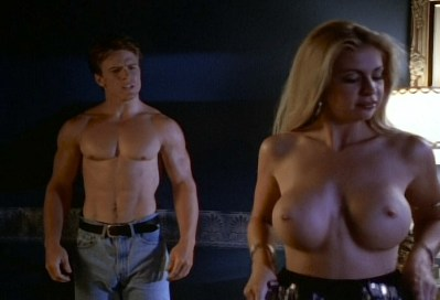 Krista Allen nude and others nude and lot of sex - Emmanuelle in Space - First Contact (1994) (9)
