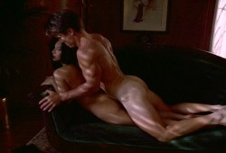 Krista Allen nude lesbian sex and other's nude - Emmanuelle in Space - One Last Fling (4)