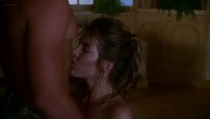 Krista Allen nude sex and Tiendra Demian nude - Emmanuelle in Space - A Lesson in Love (1994) (8)