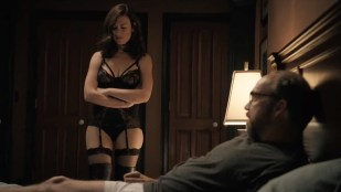 Maggie Siff hot lingerie and Malin Akerman hot and leggy - Billions (2016) S01E03 HDTV 720p
