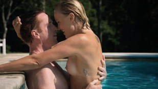 Malin Akerman nude topless and sex in pool - Billions (2016) s1e5 HDTV 720p
