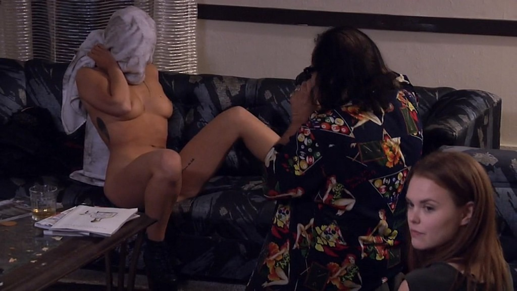 Monika Tilling nude butt and boobs Marri Savinar nude other's nude too - Shooting the Warwicks (2015) HD 720p WEB-DL (7)