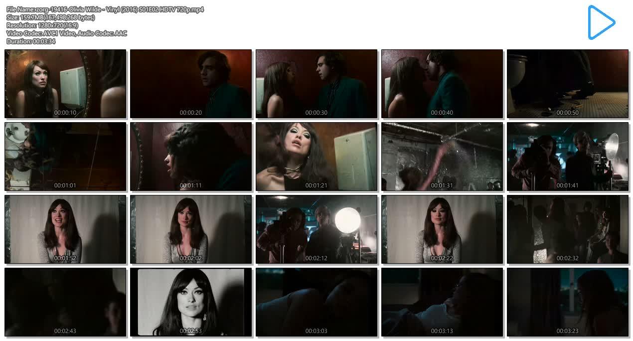 Olivia Wilde Hot Sex In Public Bathroom - Vinyl 2016 -6920