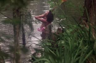 Adrienne Barbeau nude side boob – Swamp Thing (1982) HD 1080p