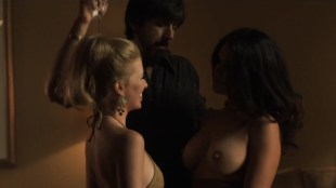 Kati Sharp nude topless and Frances Eve nude sex threesome - Vinyl (2016) s1e7 HDTV 720p