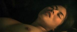 Mylène Jampanoï nude topless and sex - La vallee des fleurs (FR-2006)