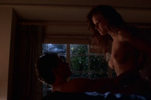 Kelly Preston nude topless, sex and hot see through – Spellbinder (1988) HD 1080p BluRay