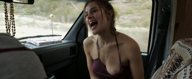 Stephanie Van Dyck nude boob and Emily Haine hot - Primal Shift (2015) HD 1080p (10)