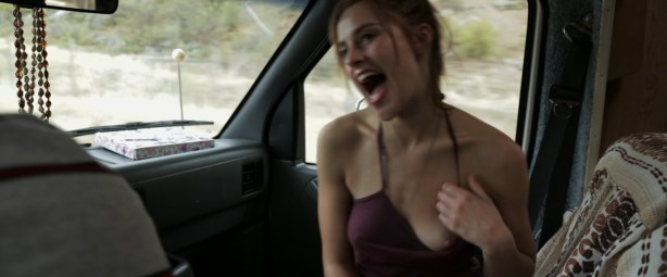 Stephanie Van Dyck nude boob and Emily Haine hot - Primal Shift (2015) HD 1080p (9)