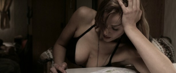 Stephanie Van Dyck nude boob and Emily Haine hot - Primal Shift (2015) HD 1080p (7)