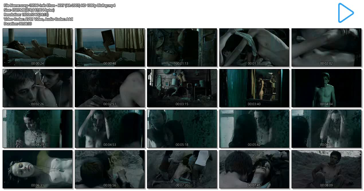 Inés Efron nude topless and sex - XXY (AR-2007) HD 1080p BluRay (11)