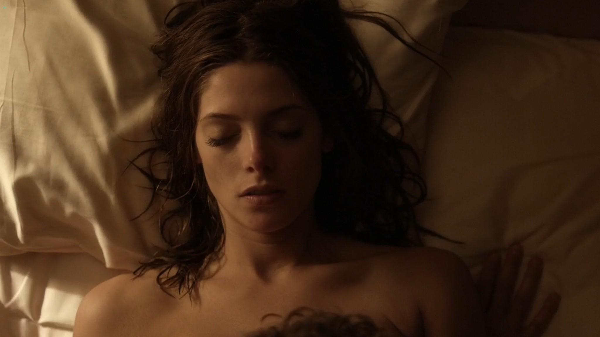 Ashley Greene nude topless riding a dude - Rogue (2016) s3e18 HD 1080p (5)