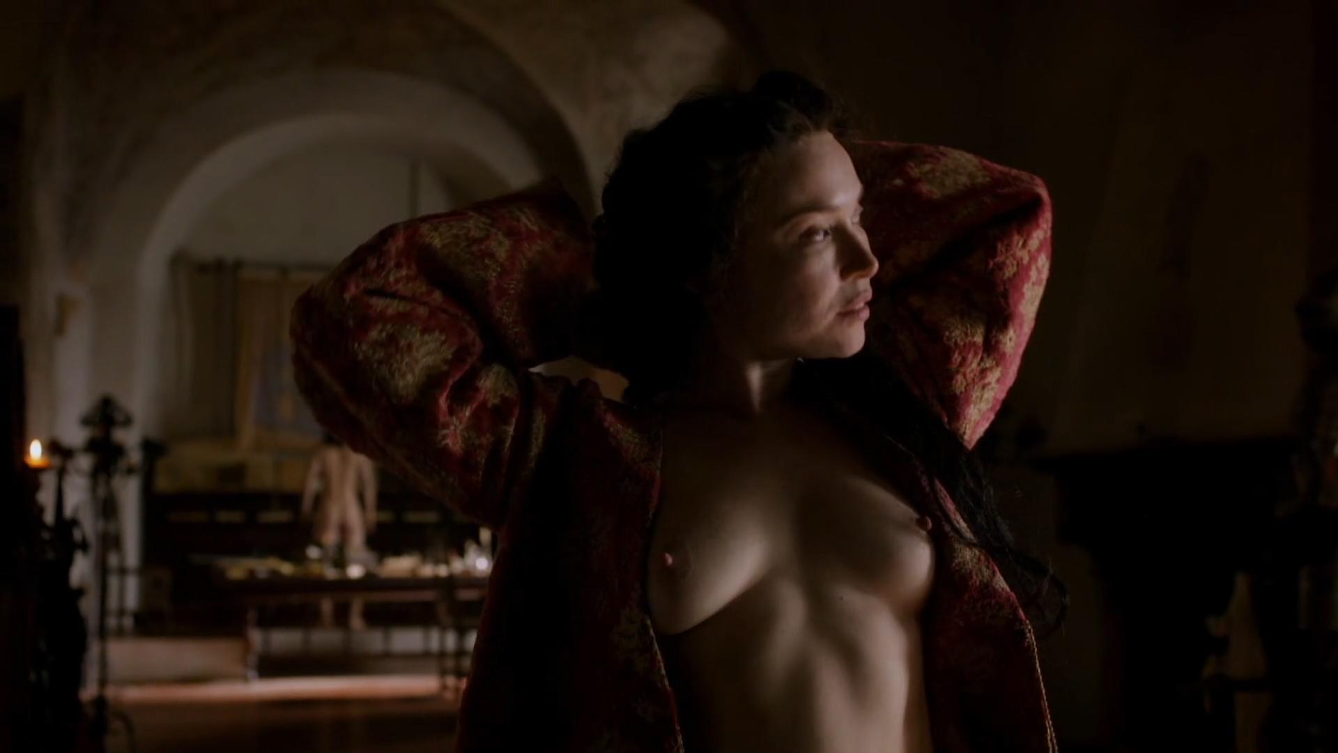 Daisy Lewis nude topless and sex - Borgia (2013) S02E01-02 HD 1080p (7)