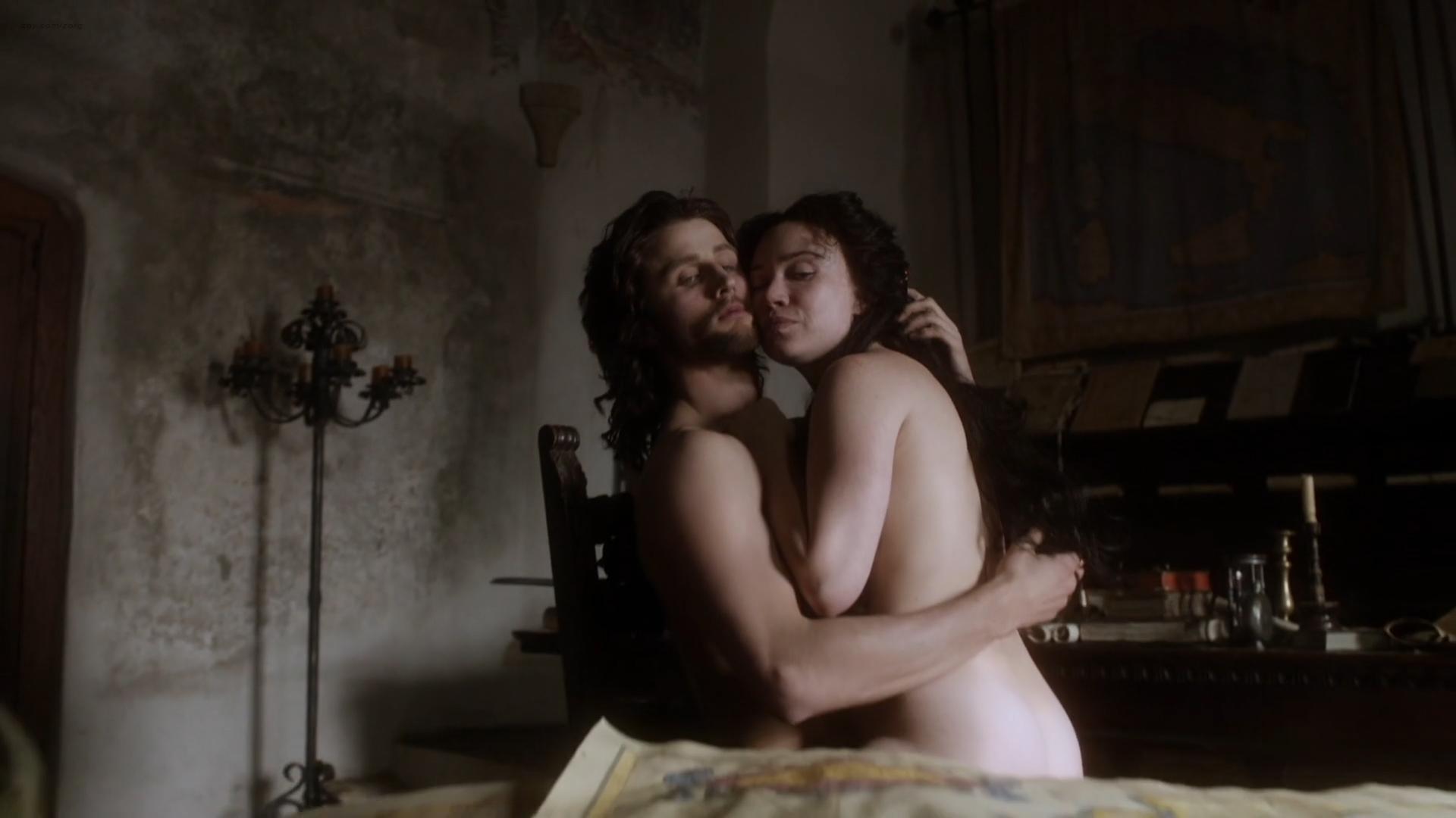 Daisy Lewis nude topless and sex - Borgia (2013) S02E01-02 HD 1080p (12)