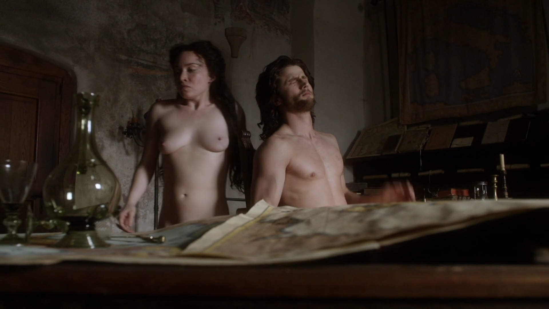 Daisy Lewis nude topless and sex - Borgia (2013) S02E01-02 HD 1080p (10)