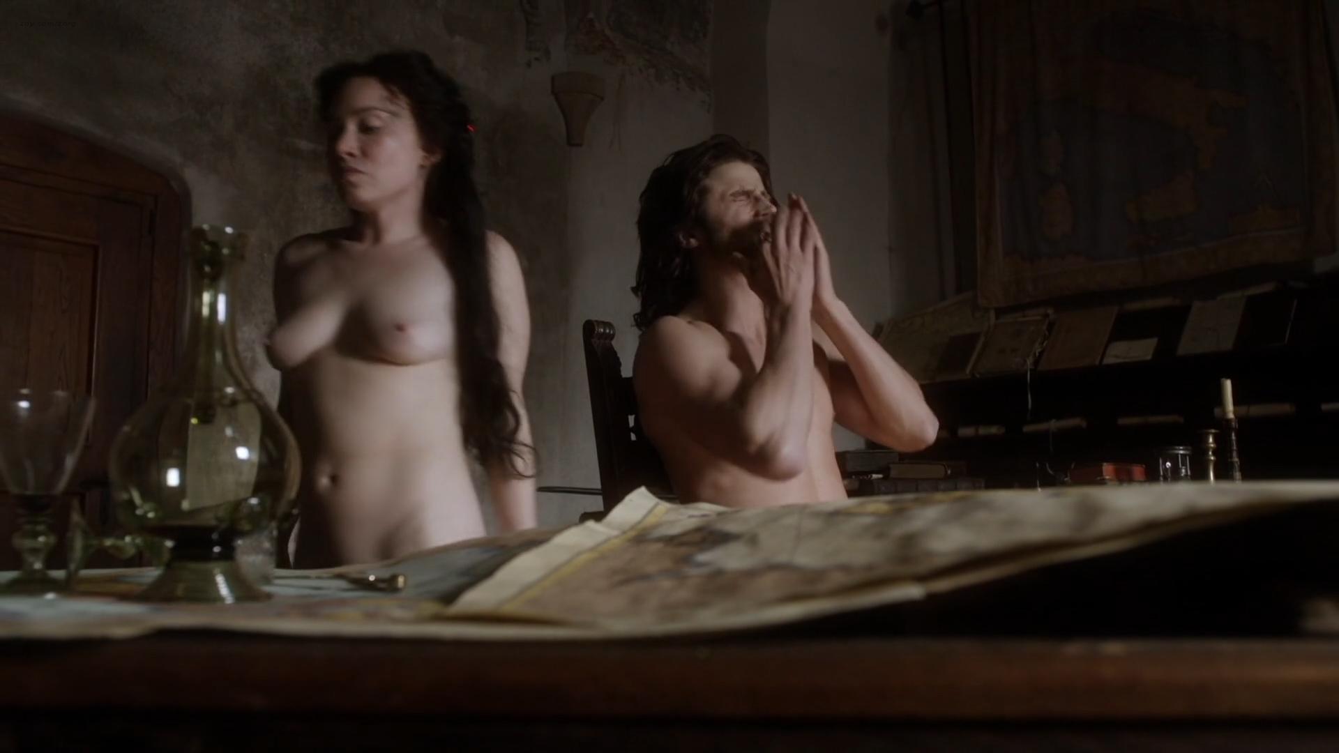 Daisy Lewis nude topless and sex - Borgia (2013) S02E01-02 HD 1080p (9)