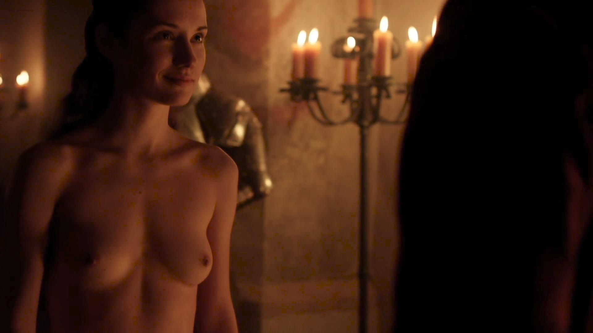 Eliska Krenková nude topless and butt- Borgia (2013) S02E02 HD 1080p (2)