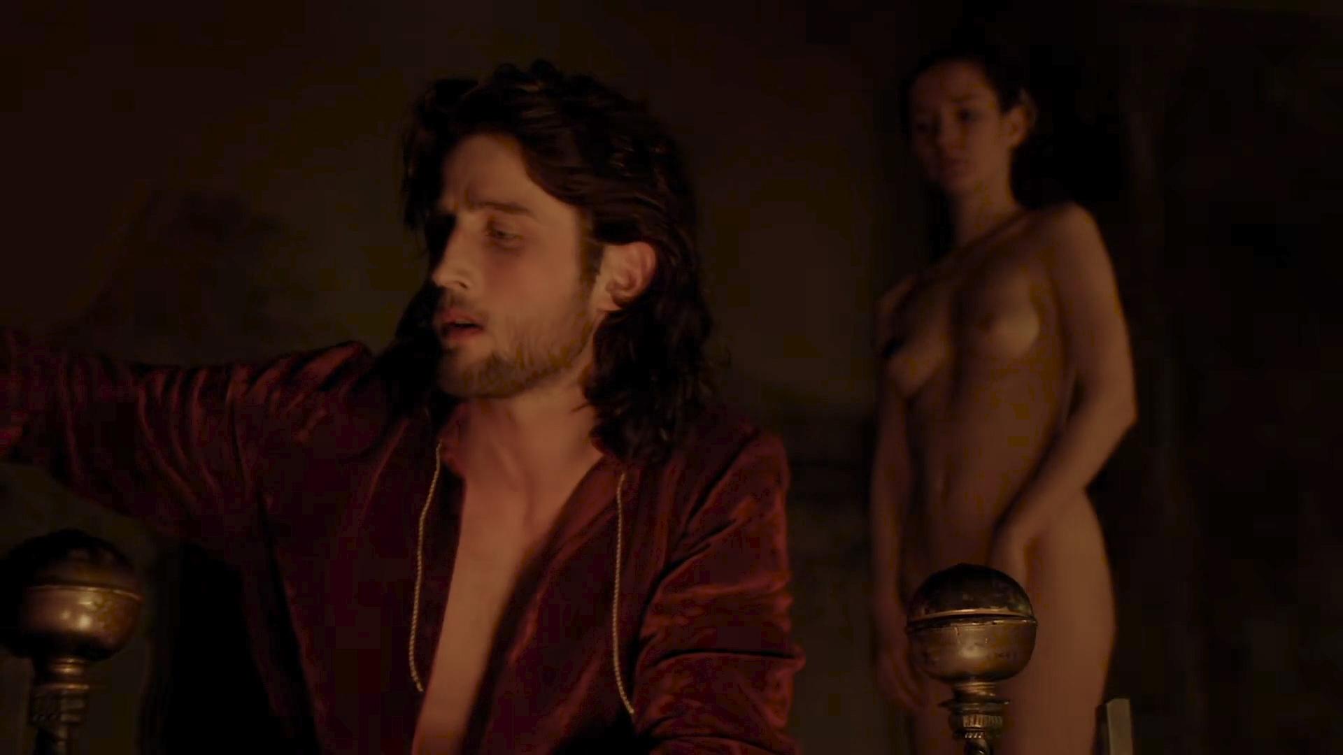 Eliska Krenková nude topless and butt- Borgia (2013) S02E02 HD 1080p (8)
