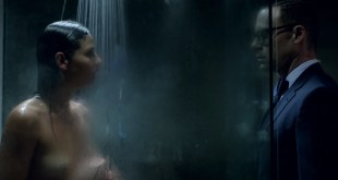 Eliza Dushku hot and bound and Ana Ayora nude topless in shower - Banshee (2016) s4e7 HD 1080p (4)