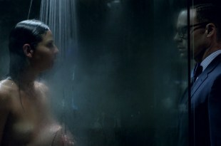 Eliza Dushku hot and bound and Ana Ayora nude topless in shower – Banshee (2016) s4e7 HD 1080p