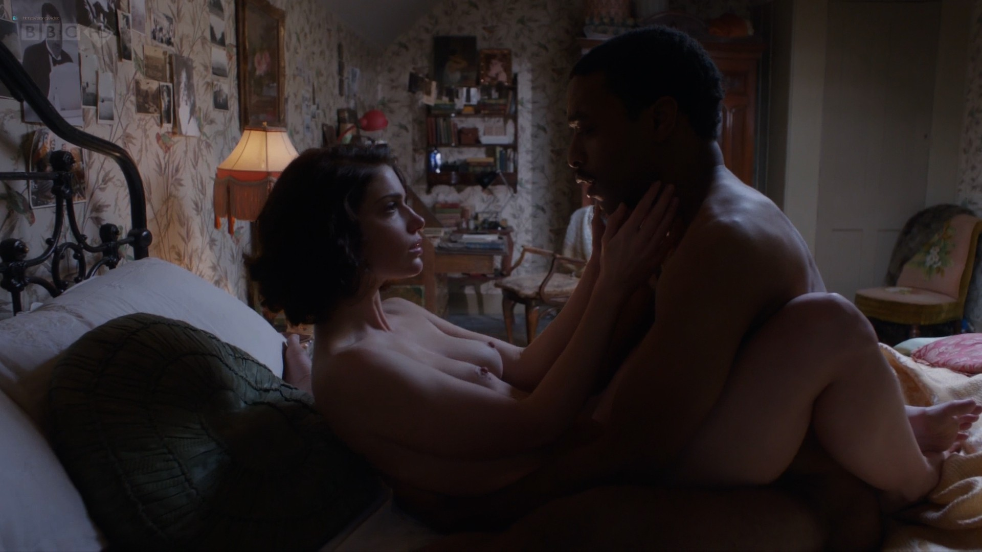 Janet Montgomery nude topless and sex - Dancing on the Edge (2013) s1e4 HD 1080p (5)