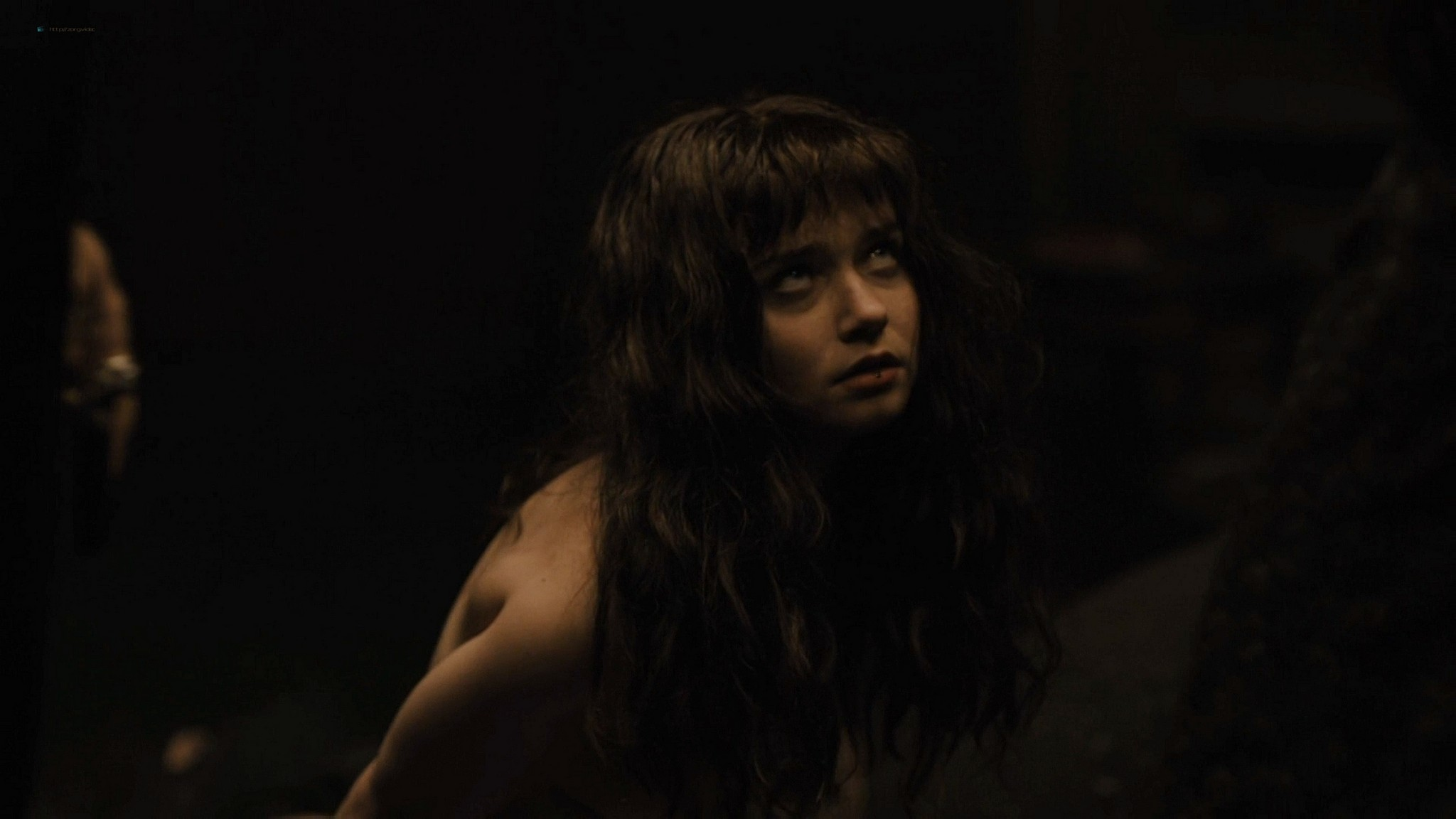 Jessica Barden nude full frontal, bush and boobs – Penny Dreadful s03e02 (2016) HD 1080p (2)