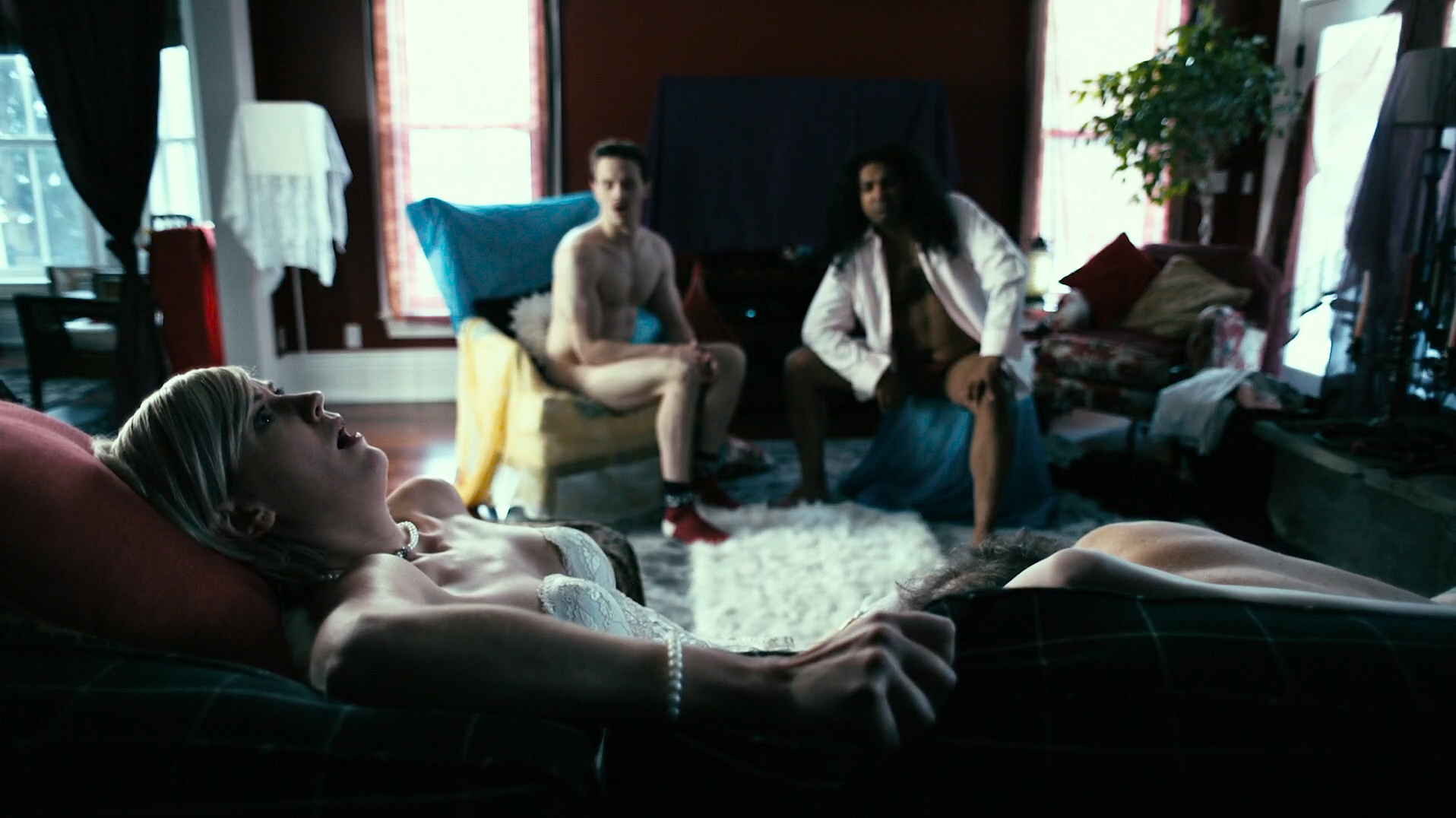 Lauren Lee Smith hot sex Jewel Staite hot Zoe Cleland nude and Katharine Isabelle - How To Plan An Orgy In A Small Town (CA-2015) HD 1080p WEB-DL (18)