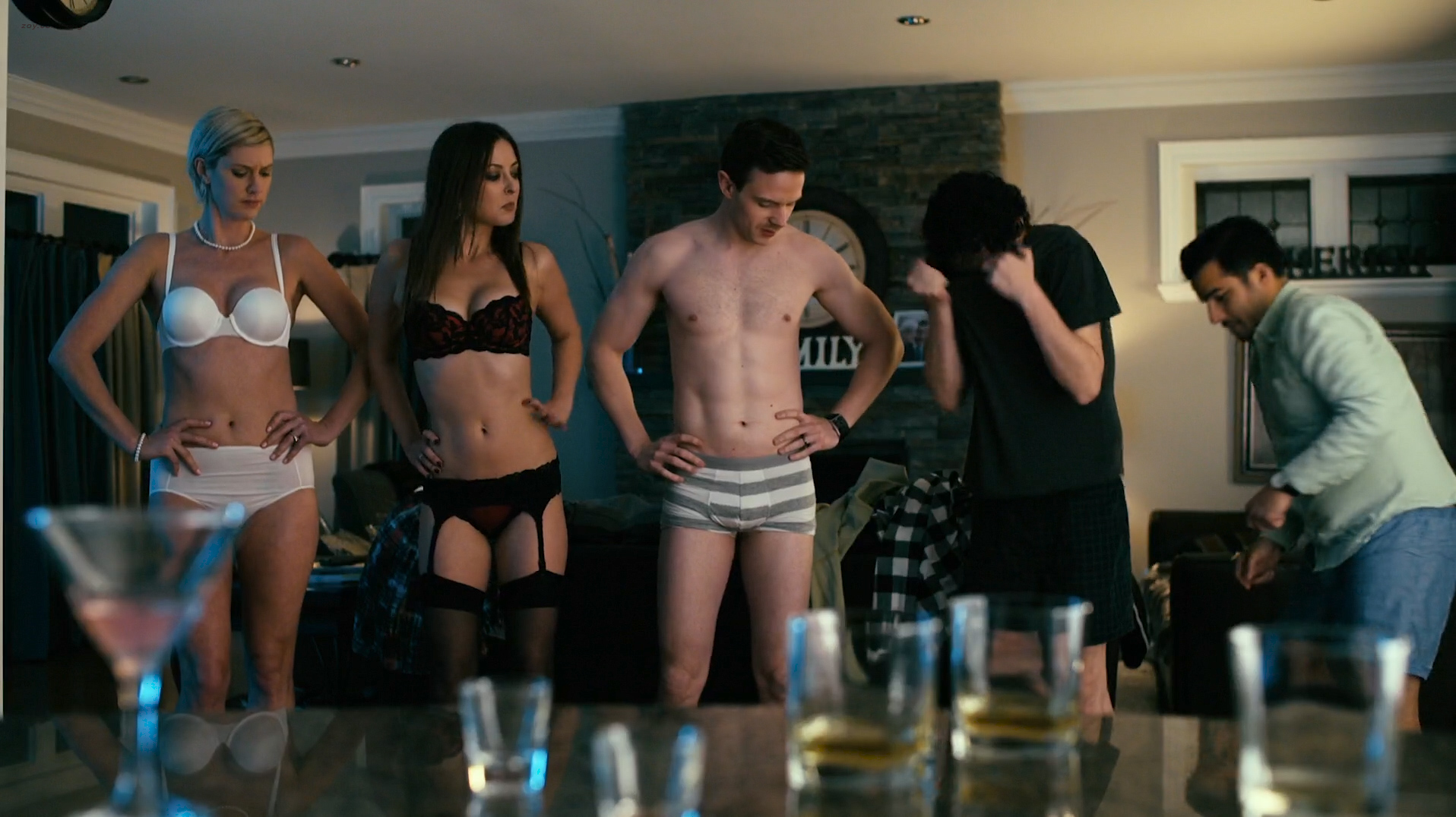 Lauren Lee Smith hot sex Jewel Staite hot Zoe Cleland nude and Katharine Isabelle - How To Plan An Orgy In A Small Town (CA-2015) HD 1080p WEB-DL (5)