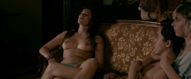 Daisy Broom nude sex Marilyn Lima nude bush and sex other's nude too - Bang Gang (FR-2015) HD 1080p BluRay (8)