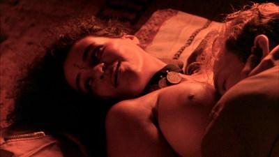 Debra Winger nude bush brief boobs and butt Amina Annabi nude topless- The Sheltering Sky (1990) HD 1080p BluRay (6)