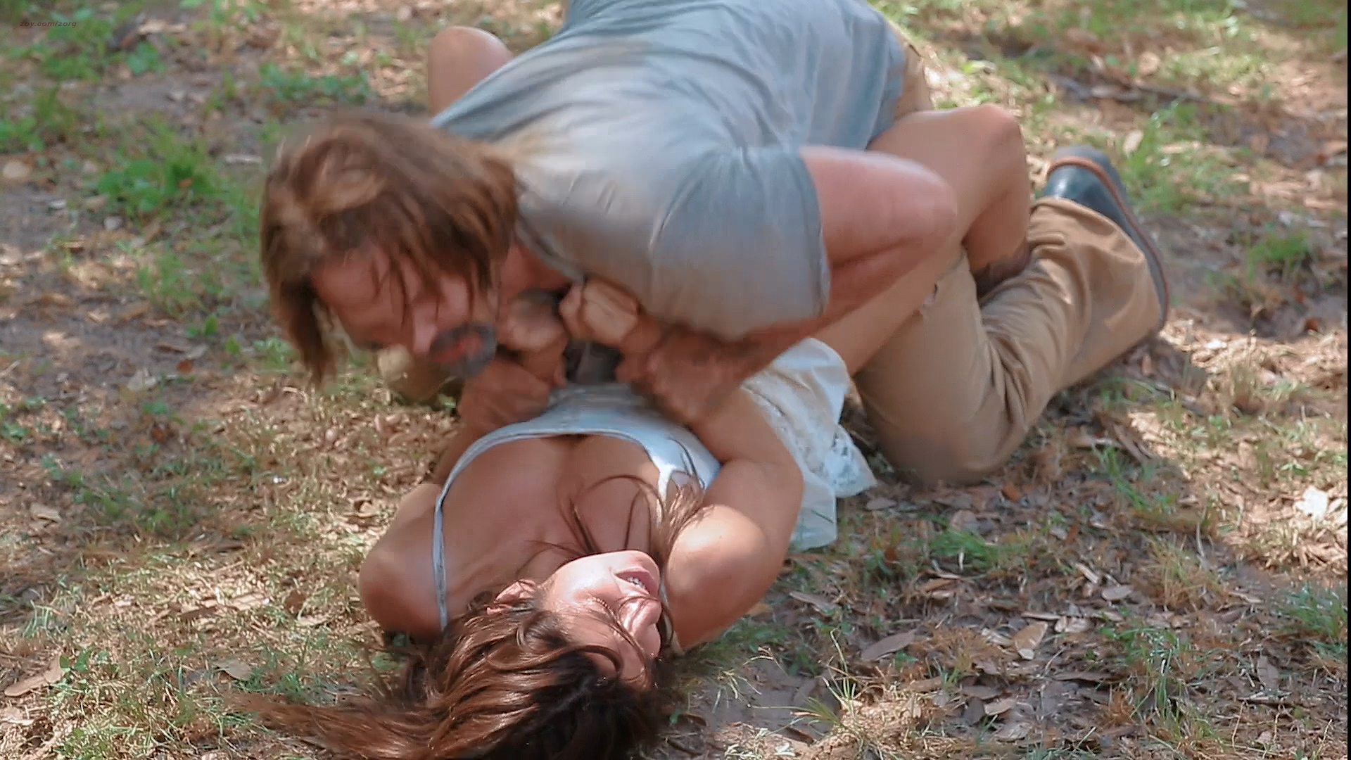 Electra Avellan hot and Jeannine Kaspar nude nipple and sex - Hidden in the Woods (2014) HD 1080p (6)