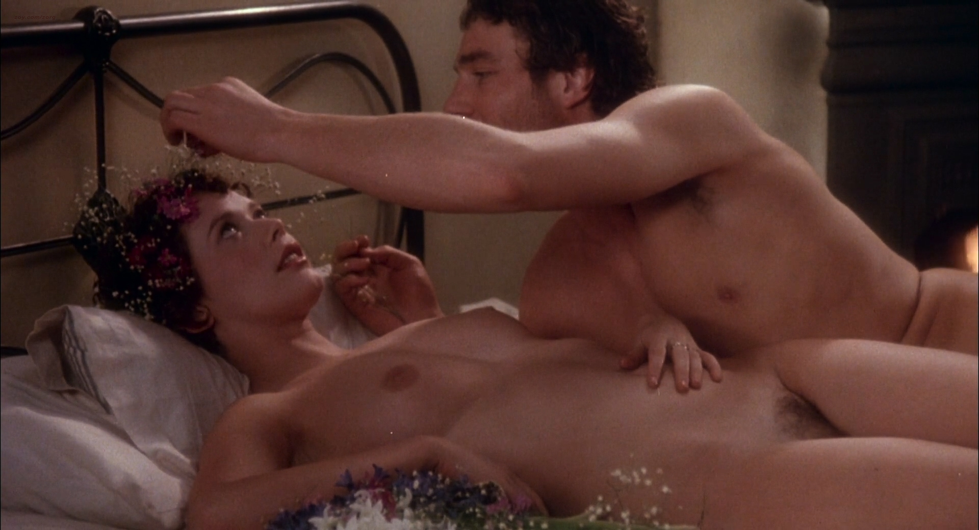 Sylvia Kristel nude full frontal, bush boobs and sex - Lady Chatterleys Lover (1981) HD 1080p BluRay (17)