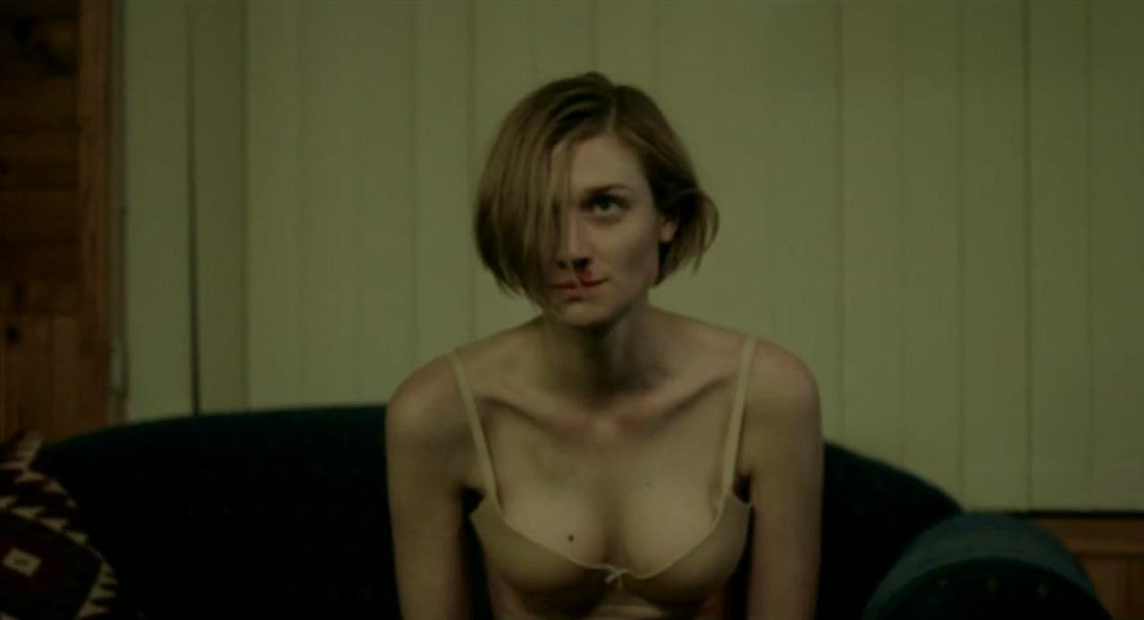 Elizabeth Debicki hot cleavage in bra some sex - The
