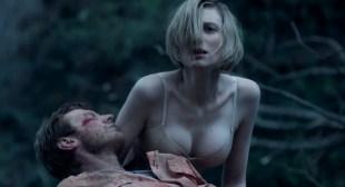 Elizabeth Debicki hot cleavage in bra some sex - The Kettering Incident (AU-2016) s1e3-4 HD 720p