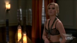 Julia Stiles hot and sexy some sex in lingerie - Blue (2014) s1e1-2 HDTV 720p (1)