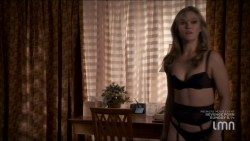 Julia Stiles hot and sexy some sex in lingerie - Blue (2014) s1e1-2 HDTV 720p (10)