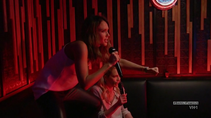 Sara Foster hot cleavage Erin Foster and Jessica Alba hot and sexy - Barely Famous (2016) S02E01 (13)