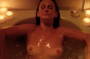 Amanda Barton nude topless and Tonya Kay nude sex – Amityville Terror (2016)