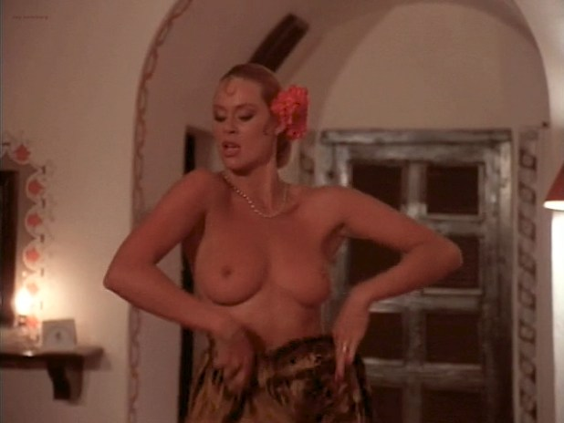 Bea Fiedler nude bush Taaffe O'Connell and Louisa Moritz nude too - Hot Chili (1985) (13)