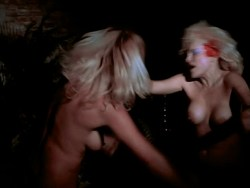 Bea Fiedler nude bush Taaffe O'Connell and Louisa Moritz nude too - Hot Chili (1985) (4)