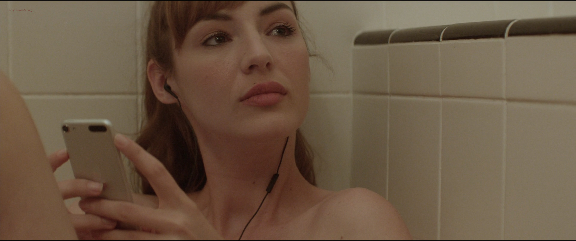 Louise Bourgoin nude nipple and hot in thong - Mojave (2015) HD 1080p BluRay (6)