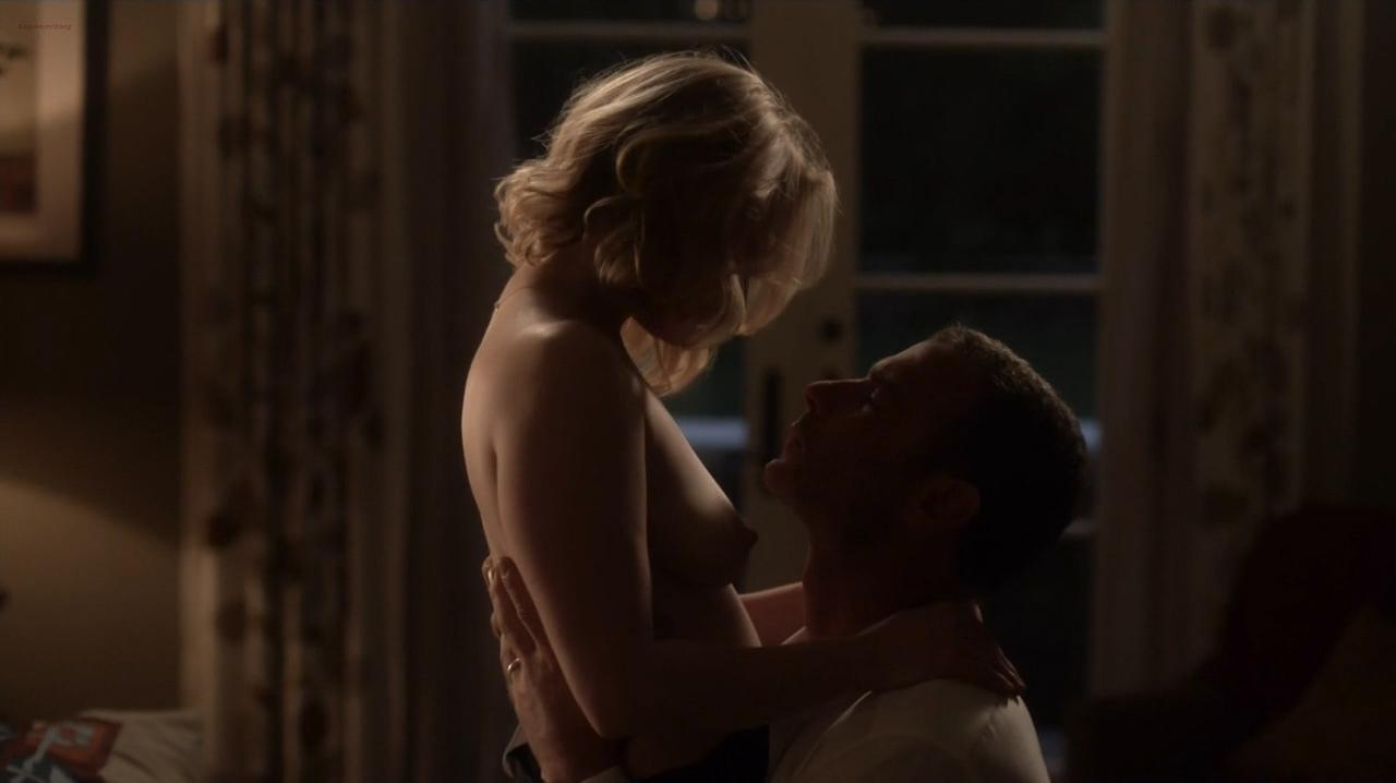 Paula Malcomson nude topless and Embeth Davidtz nude too - Ray Donovan (2016) s4e6 HD 720p (3)