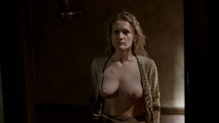 Paula Malcomson nude topless and bush - Deadwood (2006) s3e11HD 1080p