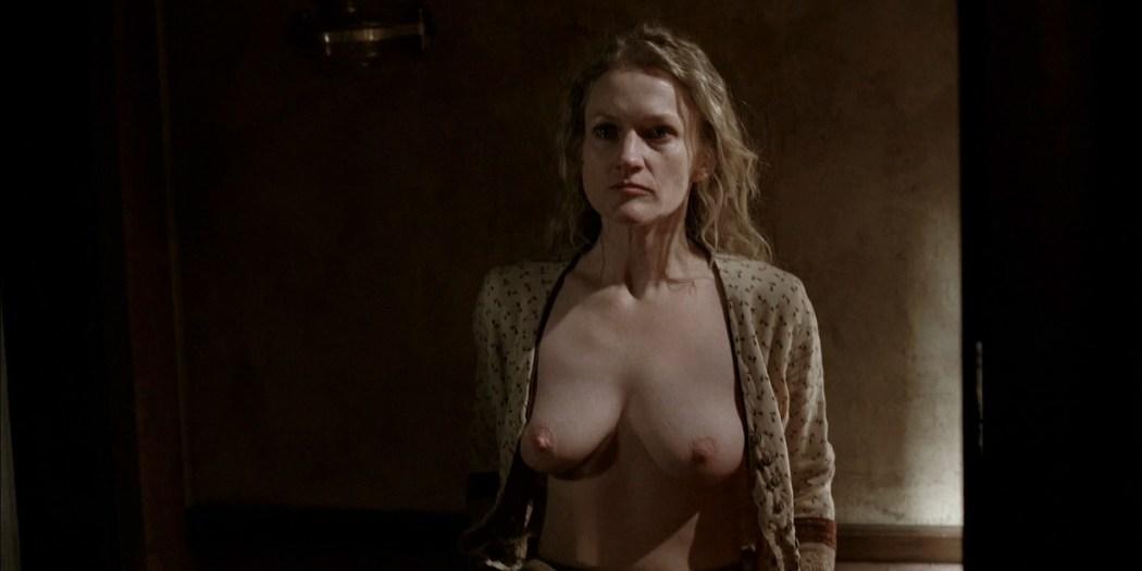 Paula Malcomson nude topless and bush - Deadwood (2006) s3e11HD 1080p (3)