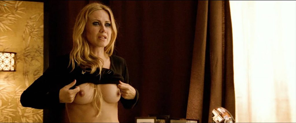 Vail Bloom nude full frontal, bush butt and Dichen Lachman hot as stripper - Too Late (2015) HD 1080p Web (12)