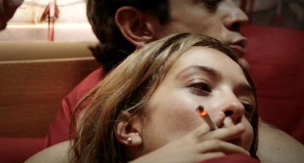 Carolina Crescentini nude topless - 20 Sigarette (IT-2010) (5)