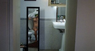Carolina Crescentini nude topless - 20 Sigarette (IT-2010)