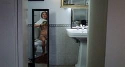 Carolina Crescentini nude topless - 20 Sigarette (IT-2010) (1)