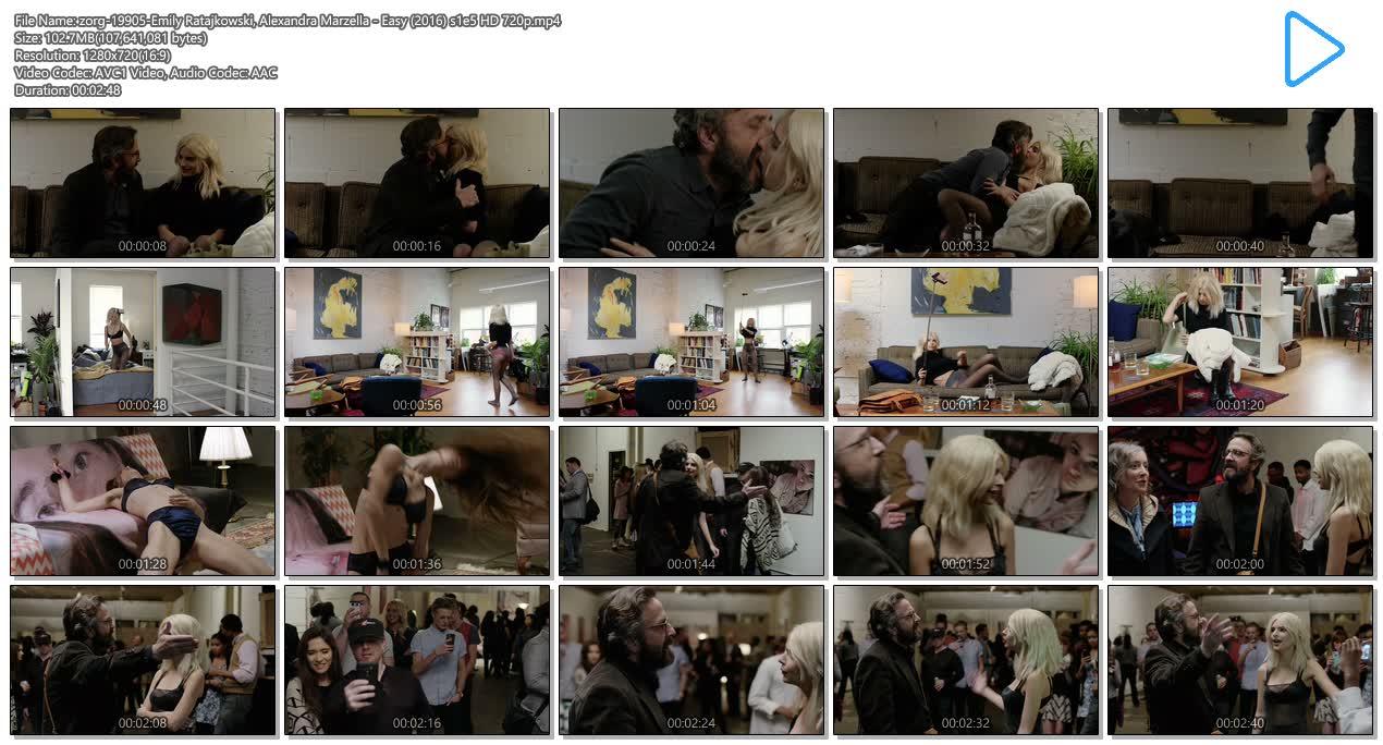 Emily Ratajkowski hot lingerie and Alexandra Marzella hot - Easy (2016) s1e5 HD 720p (12)